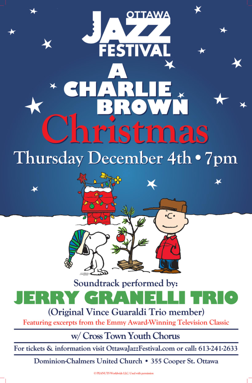 A Charlie Brown Christmas Concert Featuring the Jerry Granelli Trio. 0