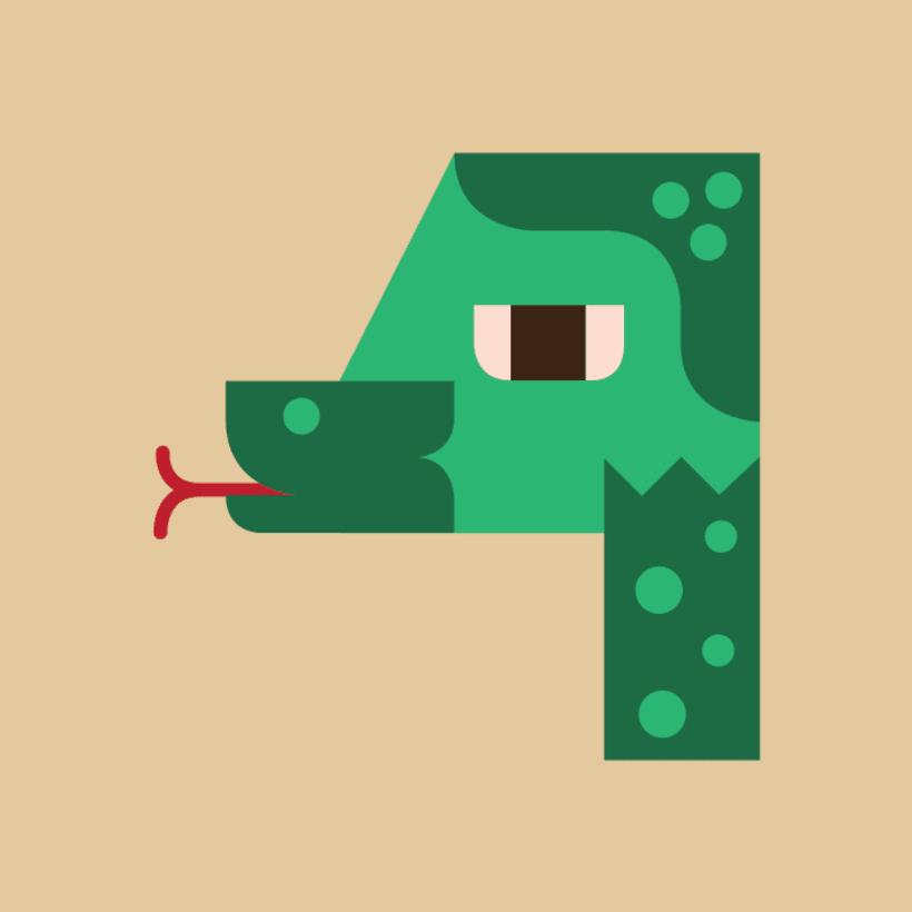 Numerología Snake 5