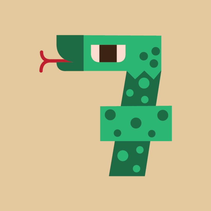 Numerología Snake 8