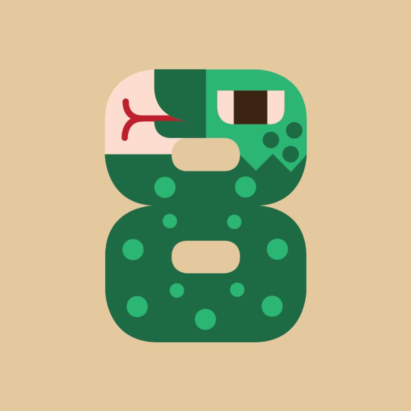 Numerología Snake 9