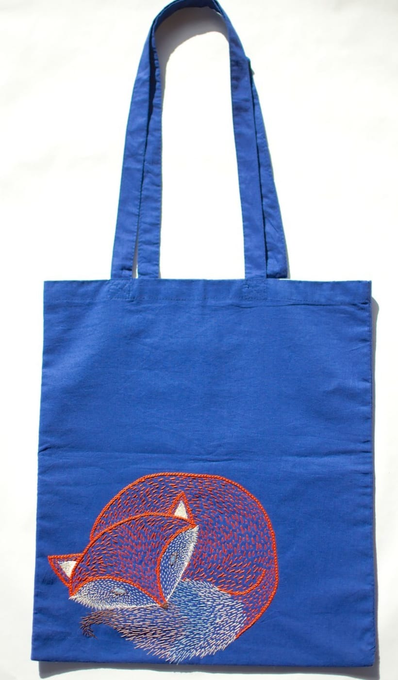 Hand-made embroidered bags -1