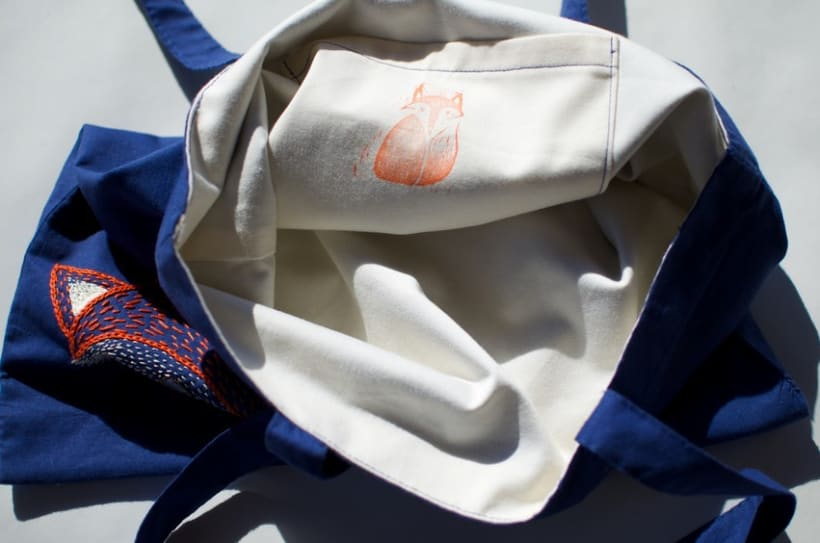 Hand-made embroidered bags 1