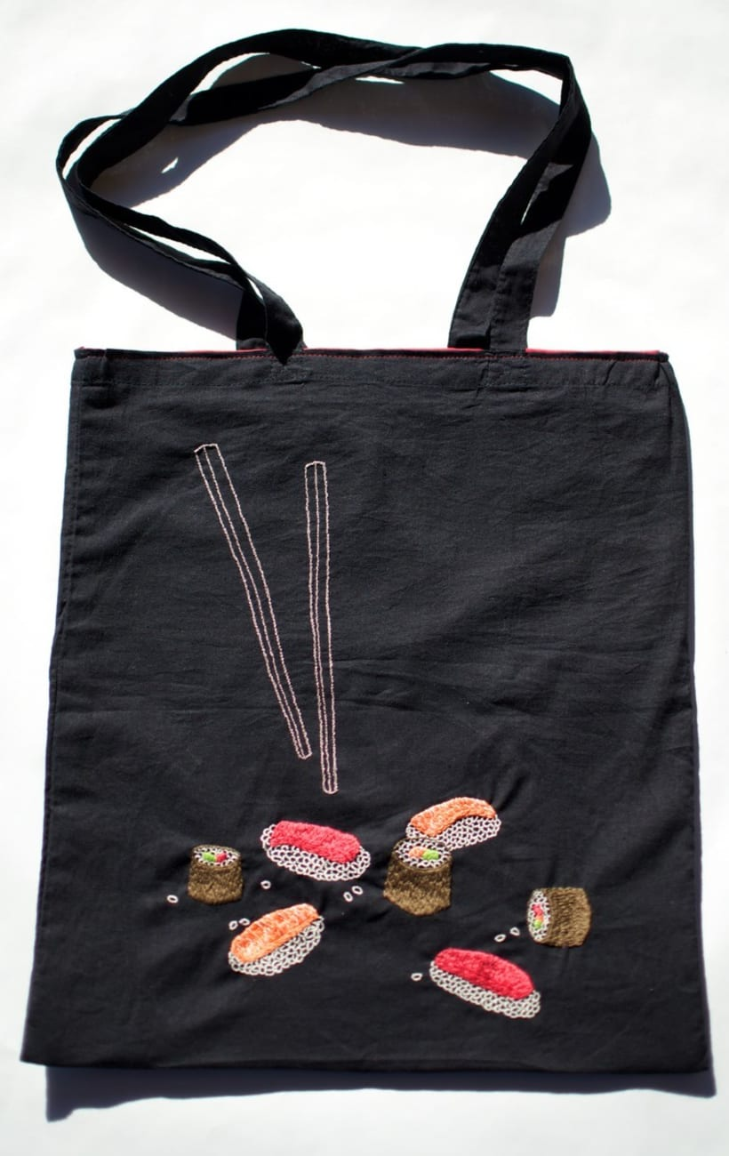 Hand-made embroidered bags 2