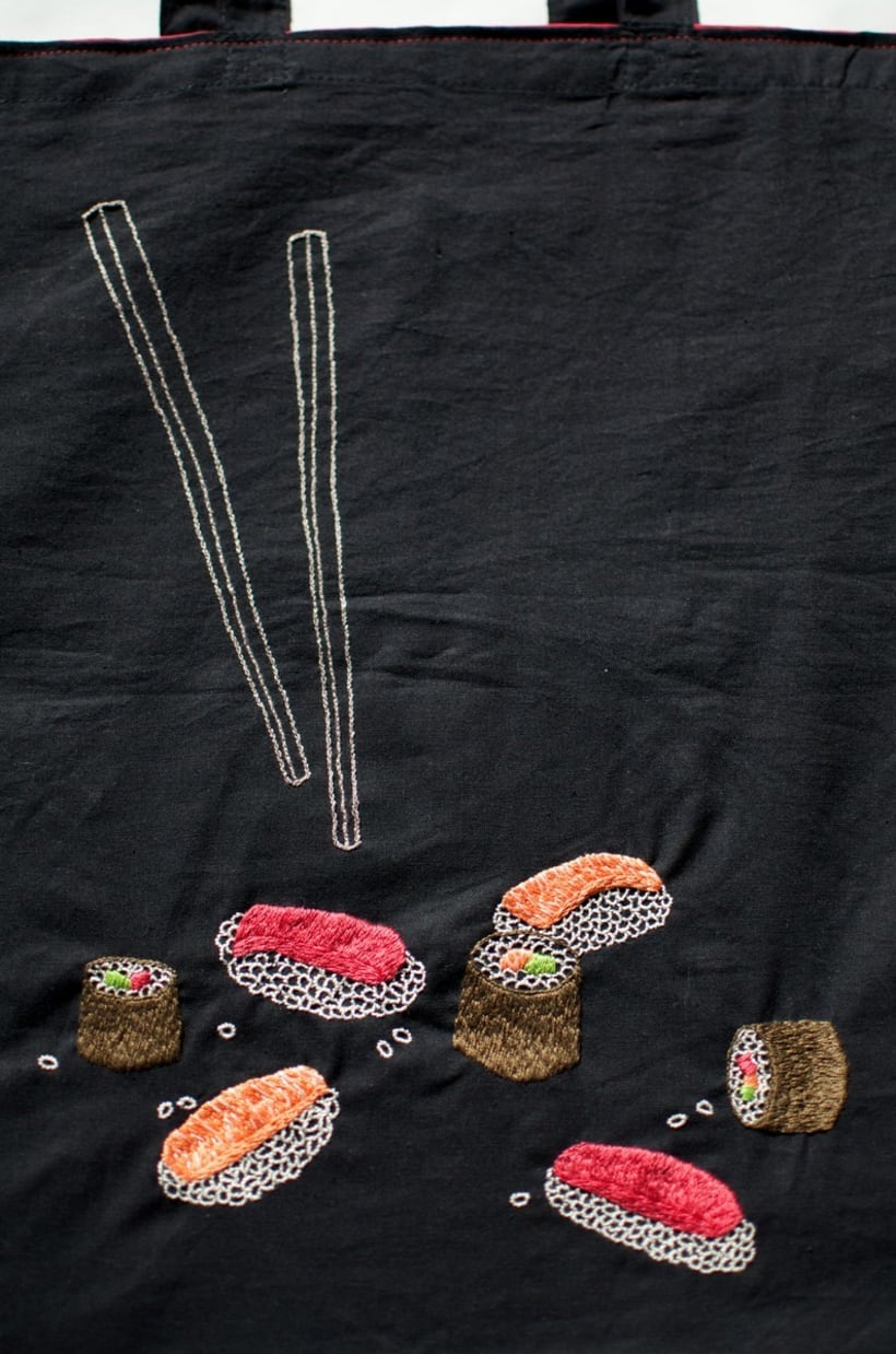Hand-made embroidered bags 5
