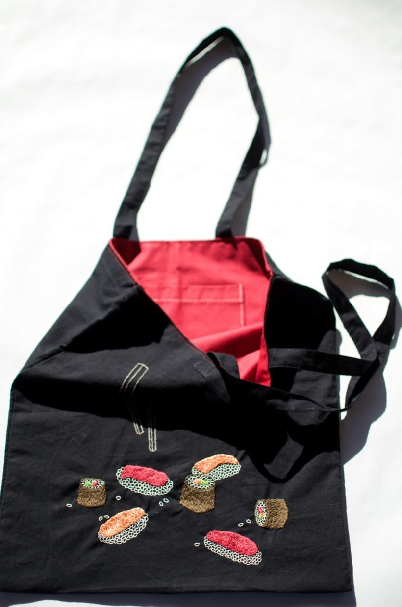 Hand-made embroidered bags 6