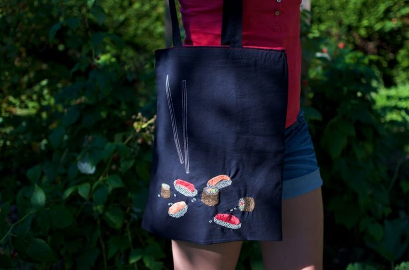 Hand-made embroidered bags 8