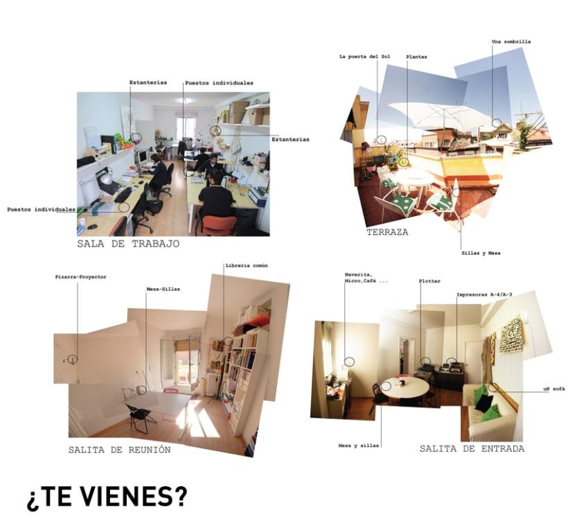 Espacios disponibles en estudio compartido. Madrid (Puerta del Sol) 1