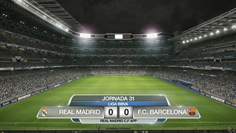 APP REAL MADRID. ON AIR -1