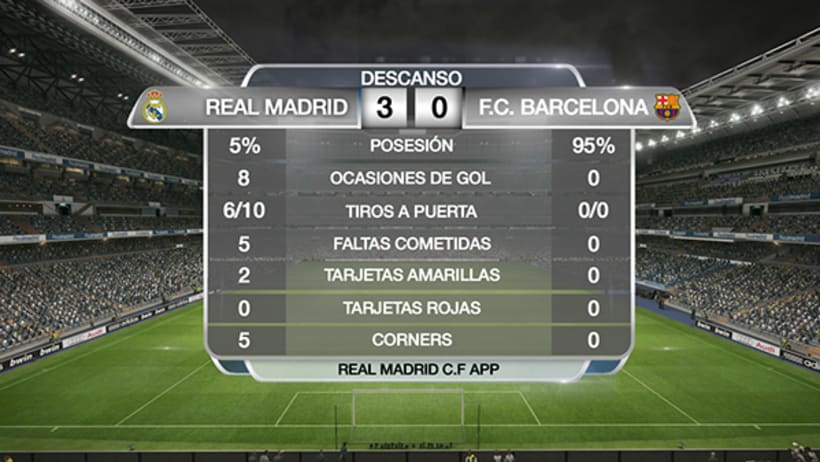 APP REAL MADRID. ON AIR 0