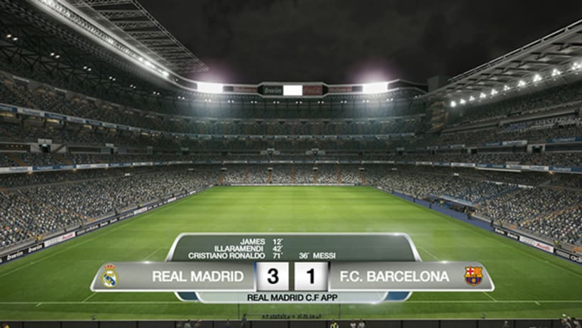 APP REAL MADRID. ON AIR 1