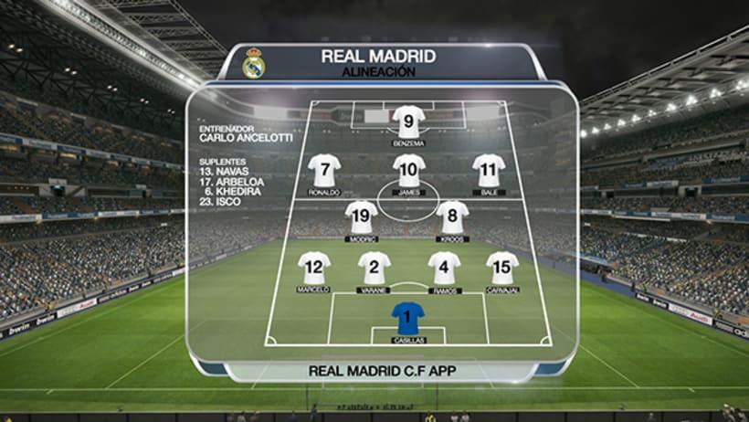 APP REAL MADRID. ON AIR 4