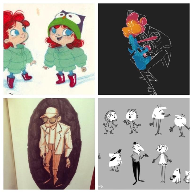 El trabajo de animación e ilustración de Hanna S. Abi-Hanna 3