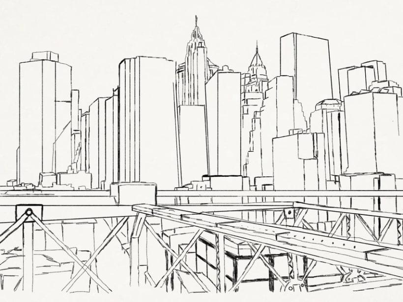 New York bidimensional air space 0