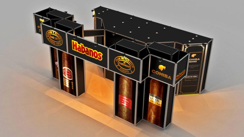 Stand Habanos s.a. 8