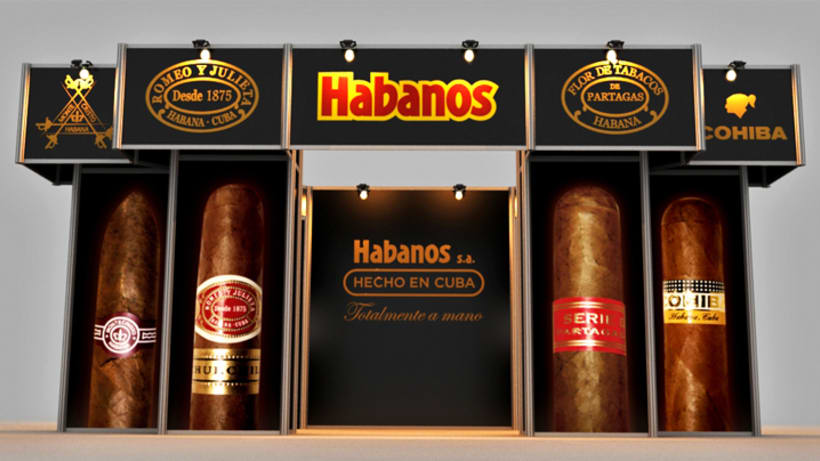 Stand Habanos s.a. 9