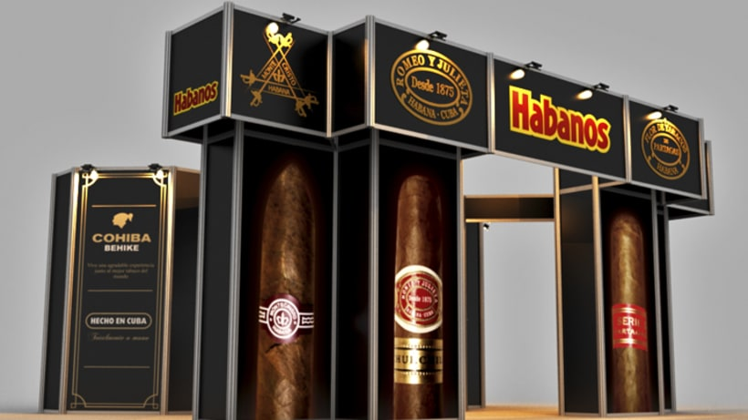 Stand Habanos s.a. 10