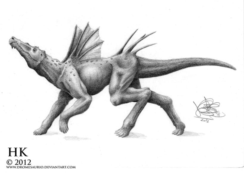 Criaturas a lápiz 0