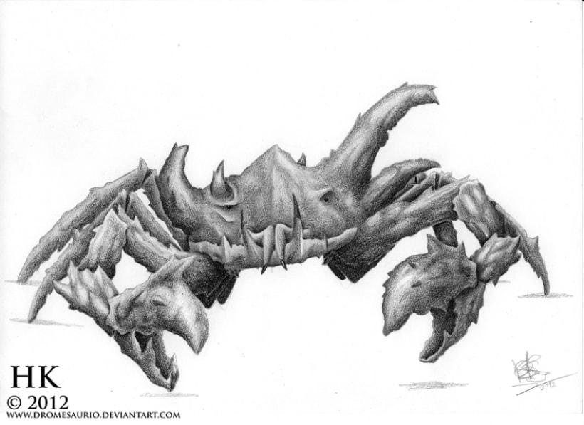 Criaturas a lápiz 1