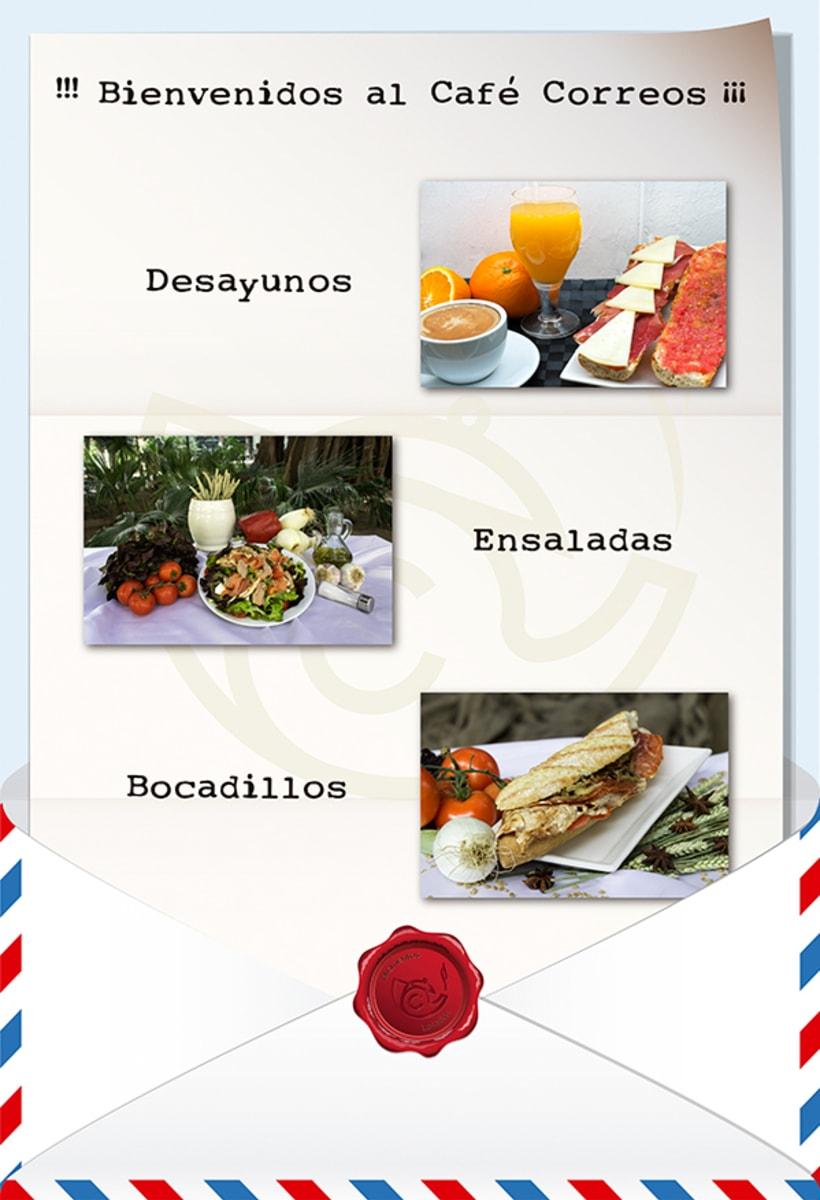 Imagen Corporativa Café Correos 6