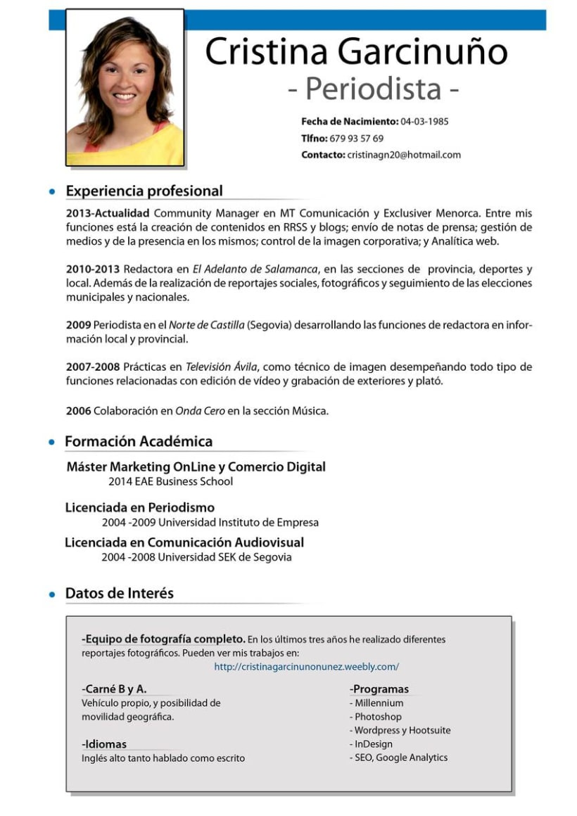 CV Cristina Garcinuño Nuñez -1