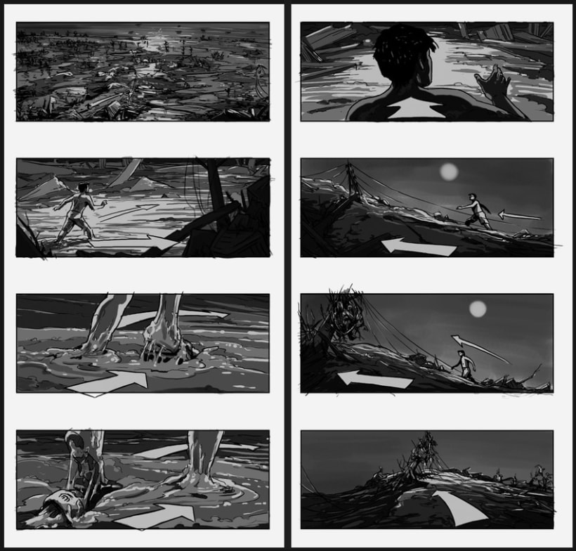 Lo Imposible / The Impossible - J. A. Bayona (Film storyboards) 0