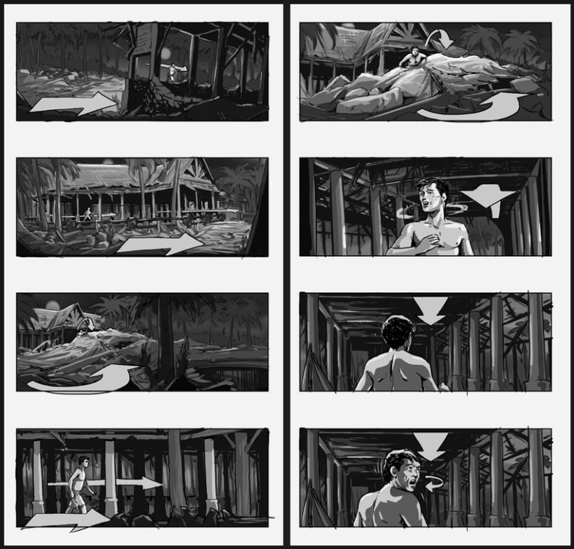 Lo Imposible / The Impossible - J. A. Bayona (Film storyboards) 4