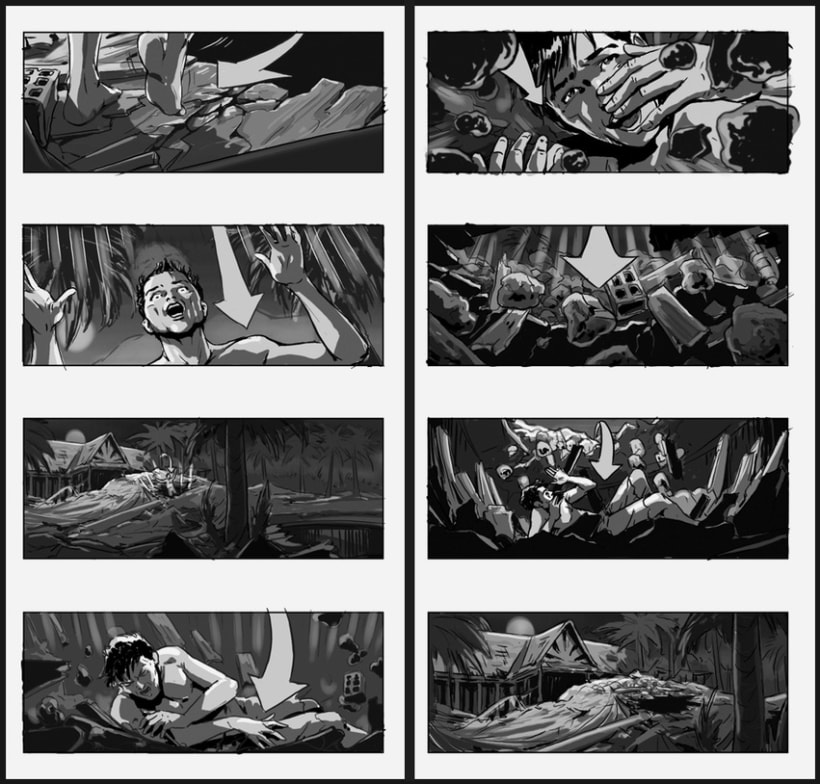 Lo Imposible / The Impossible - J. A. Bayona (Film storyboards) 6