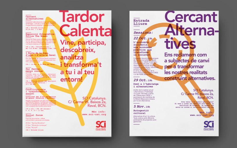 Cartells: Servei Civil Internacional de Catalunya 2