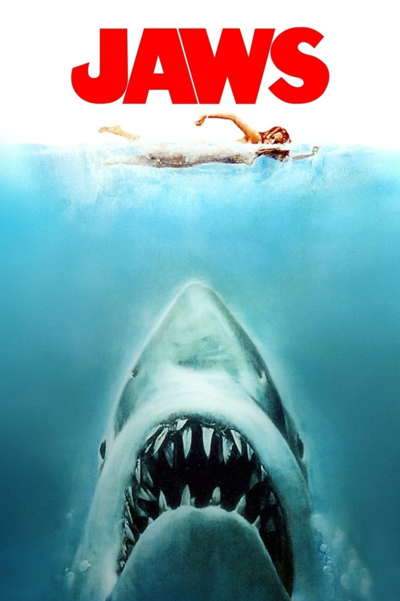 Poster JAWS Low Poly 2