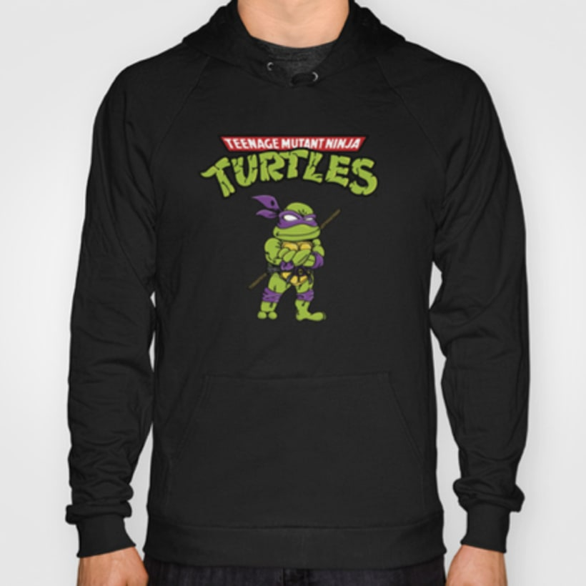 Merchandising Ninja Turtles 3