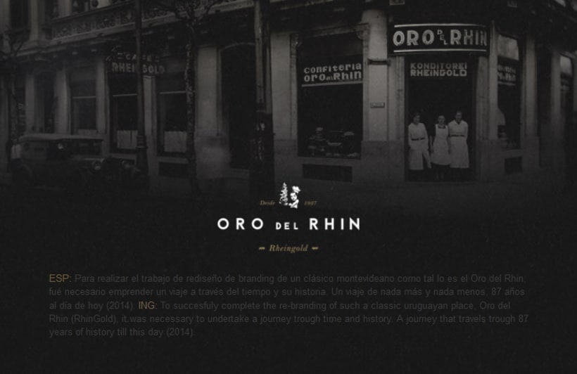 ReBranding Oro del Rhin 0