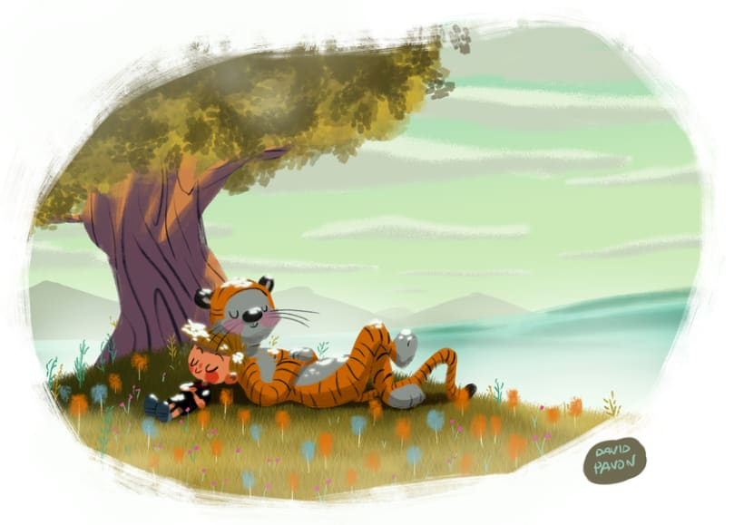 Calvin y Hobbes -1