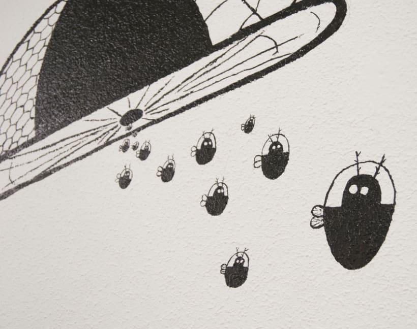 """""""Aliens vs. Insectos"""" para Rana Cowork 1"""