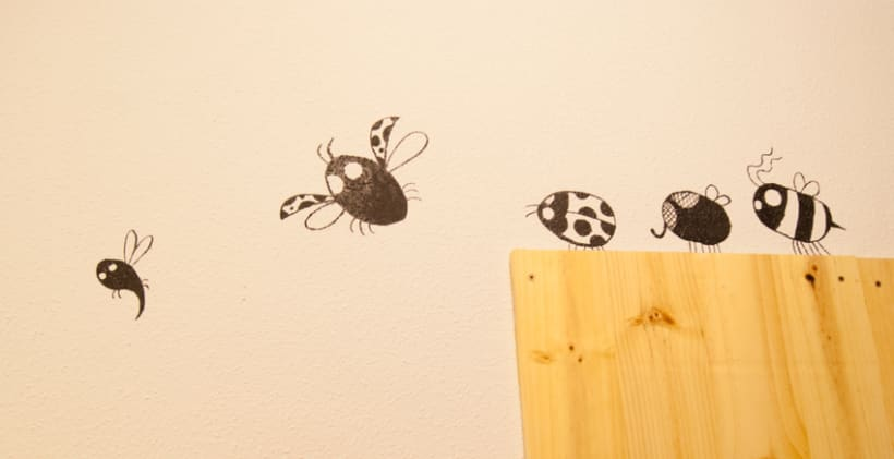 """""""Aliens vs. Insectos"""" para Rana Cowork 4"""