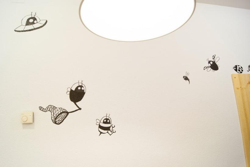 """""""Aliens vs. Insectos"""" para Rana Cowork 7"""