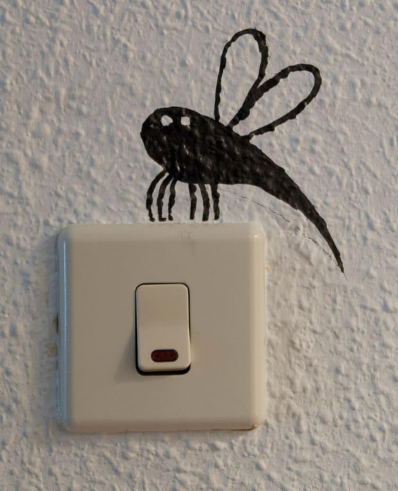 """""""Aliens vs. Insectos"""" para Rana Cowork 12"""