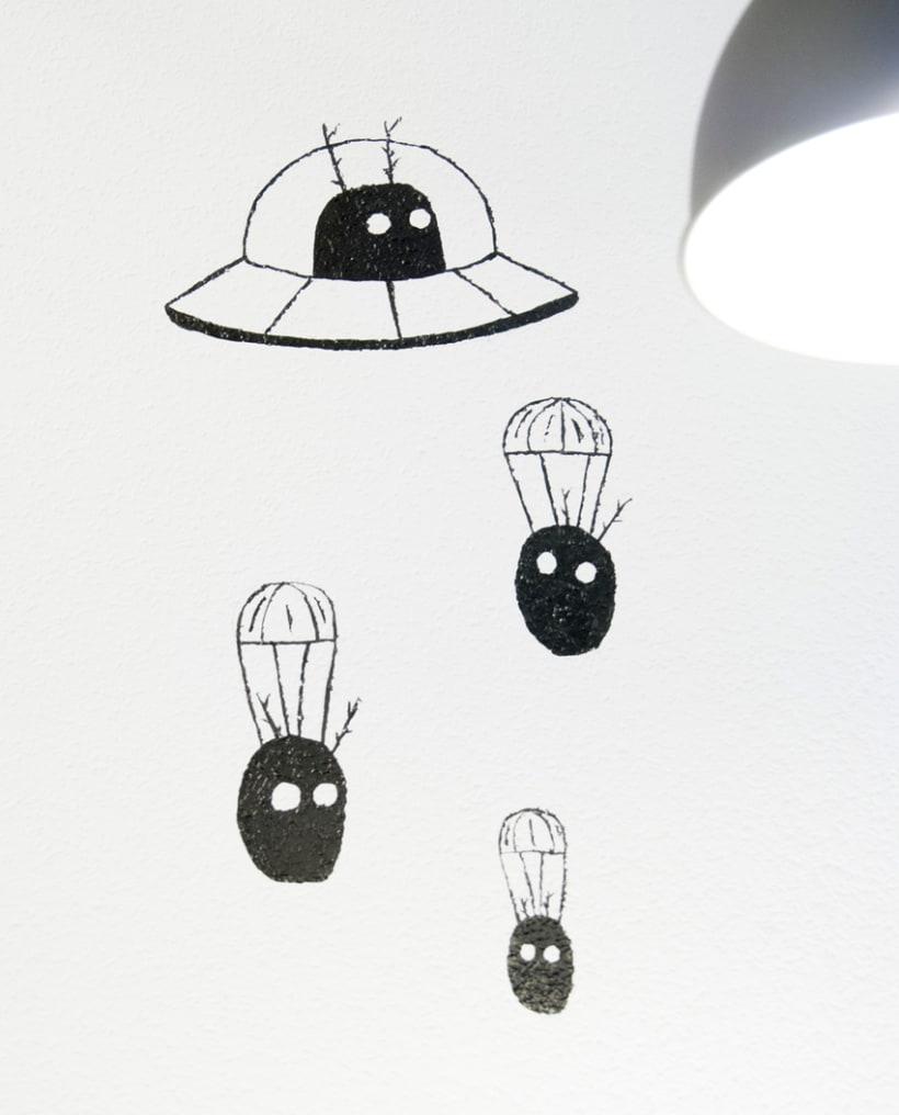 """""""Aliens vs. Insectos"""" para Rana Cowork 15"""