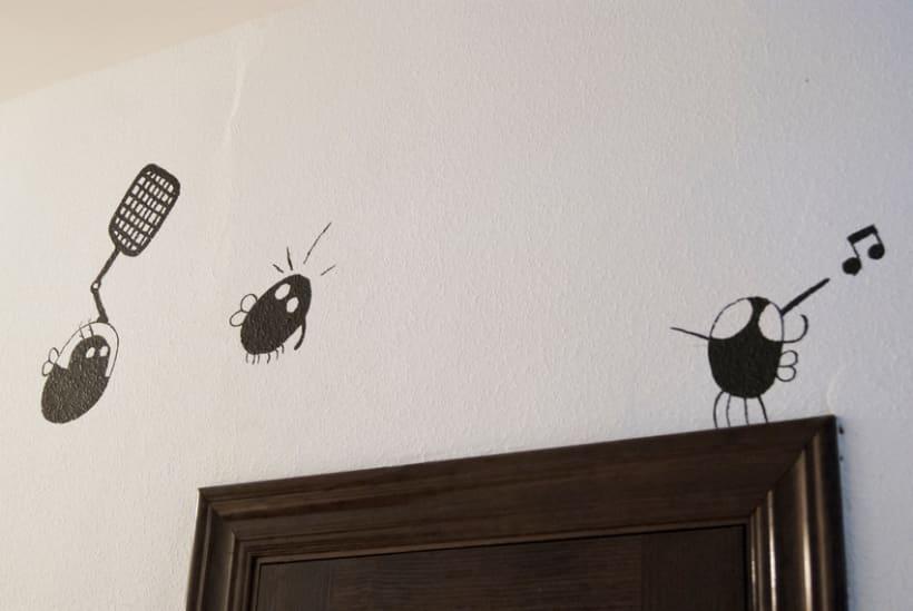 """""""Aliens vs. Insectos"""" para Rana Cowork 17"""