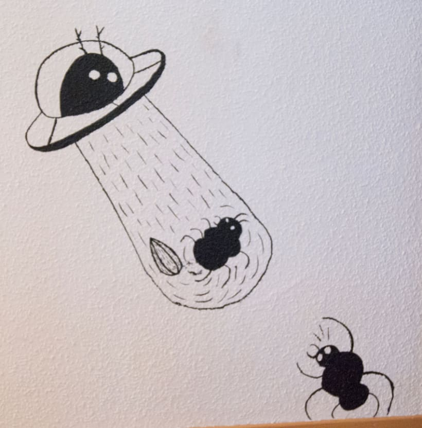 """""""Aliens vs. Insectos"""" para Rana Cowork 20"""