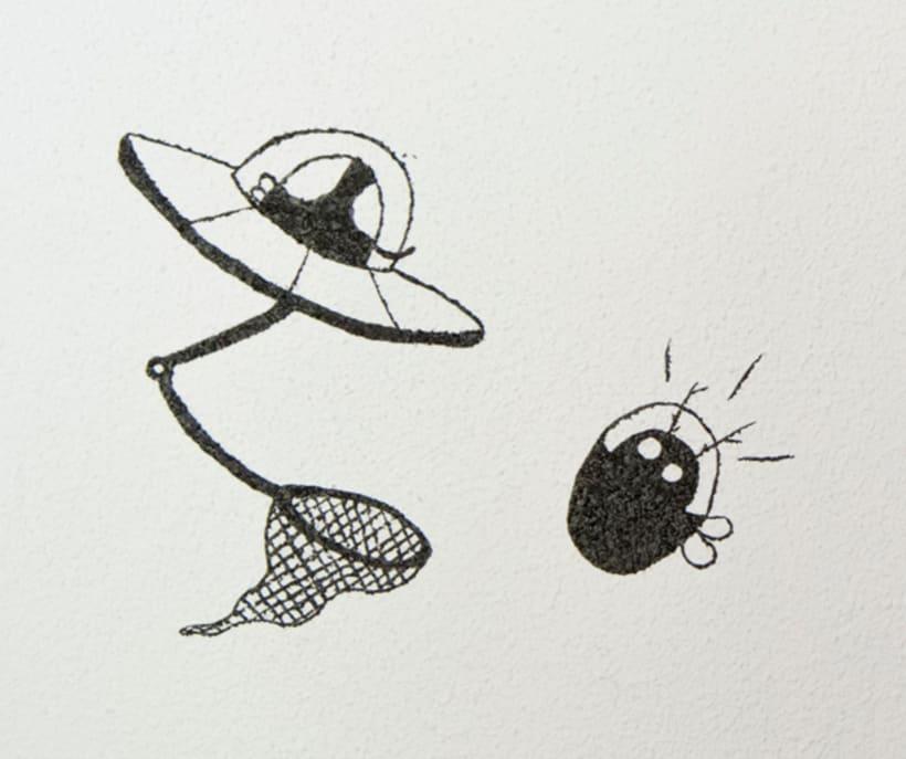 """""""Aliens vs. Insectos"""" para Rana Cowork 25"""