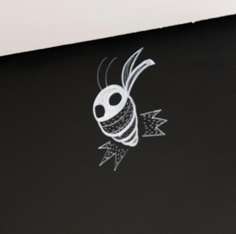 """""""Aliens vs. Insectos"""" para Rana Cowork 35"""