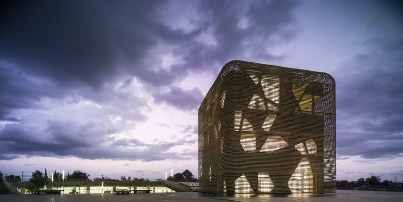 Palacio de Congresos en Villanueva de la Serena (Badajoz) 1