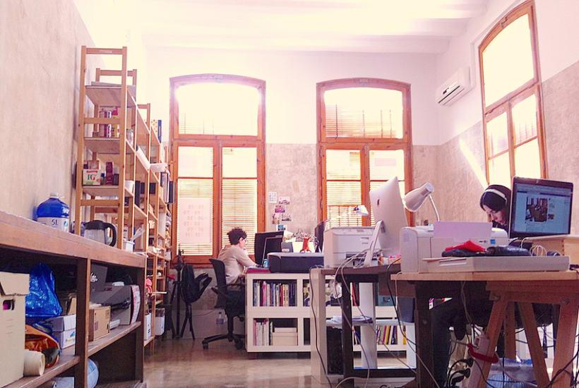 Tenemos plaza libre en estudio compartido en Barcelona - Borne 1