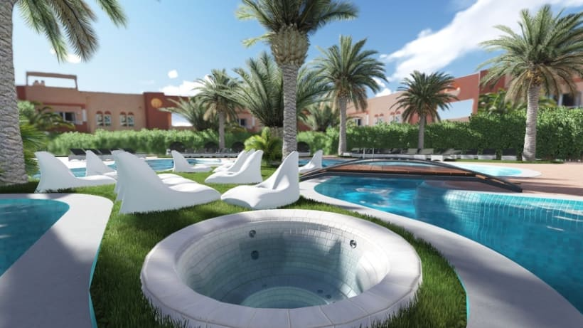 3D Restyling Resort Oliva NOVA 2