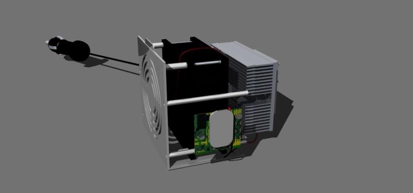 Enfriador Portátil para Latas de 355 ml       6CC-SC1 Smart Cooler 1 1