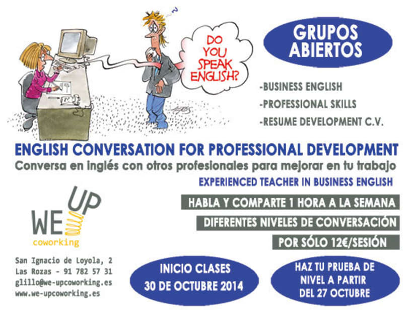 Englesih conversation for professional development 0