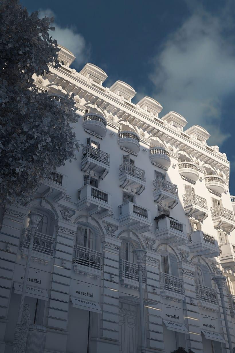 Cortefiel Granada 3D 3