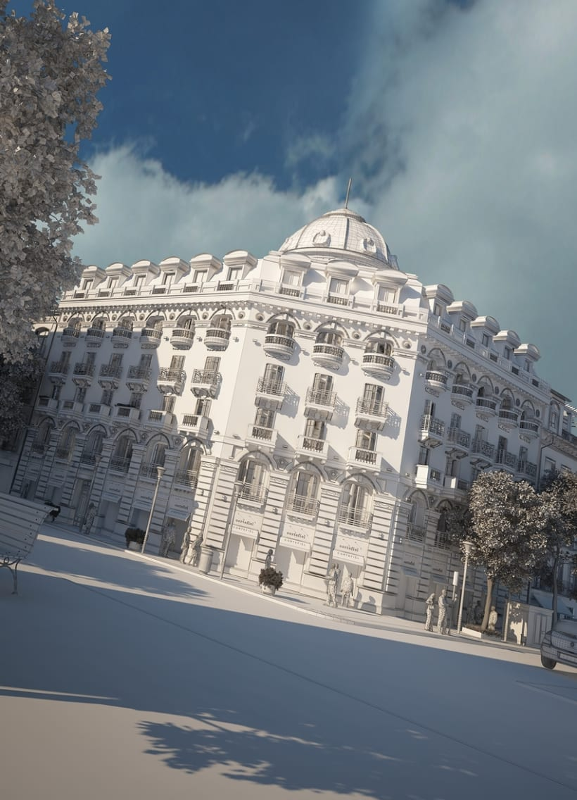 Cortefiel Granada 3D 1
