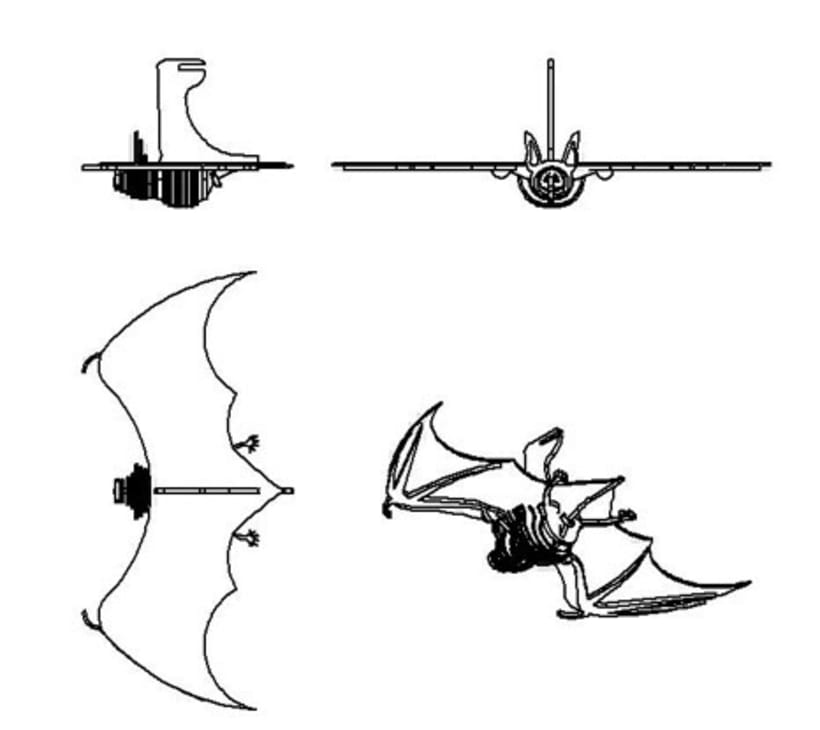 Lámpara Murciélago 0