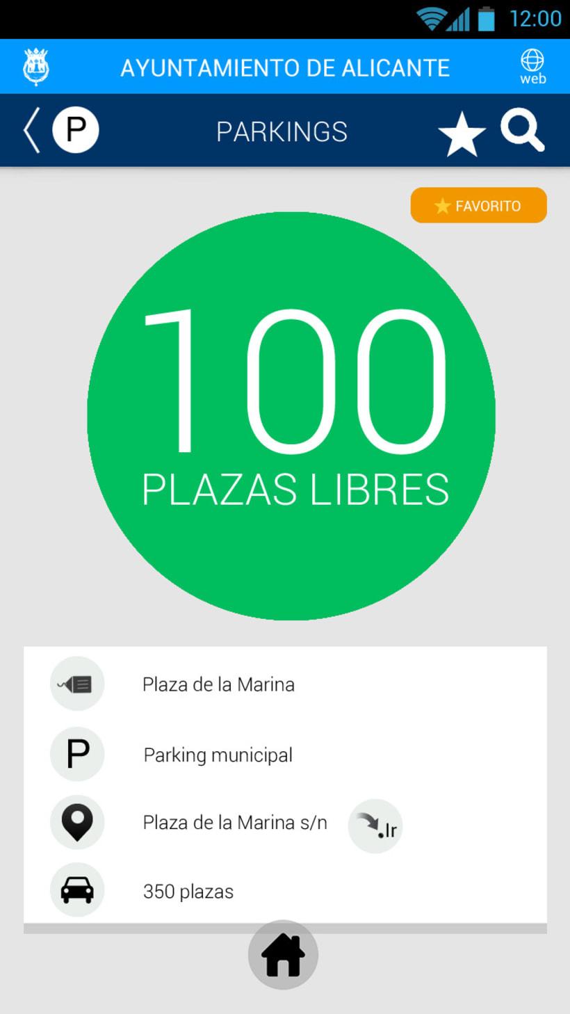 Tráfico de Alicante mobile app 5